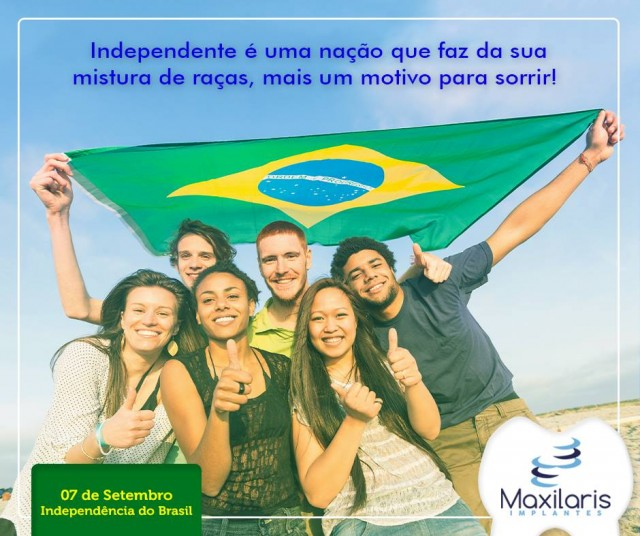 Independente é uma nação que faz da sua mistura de raças, mais um motivo para sorrir!