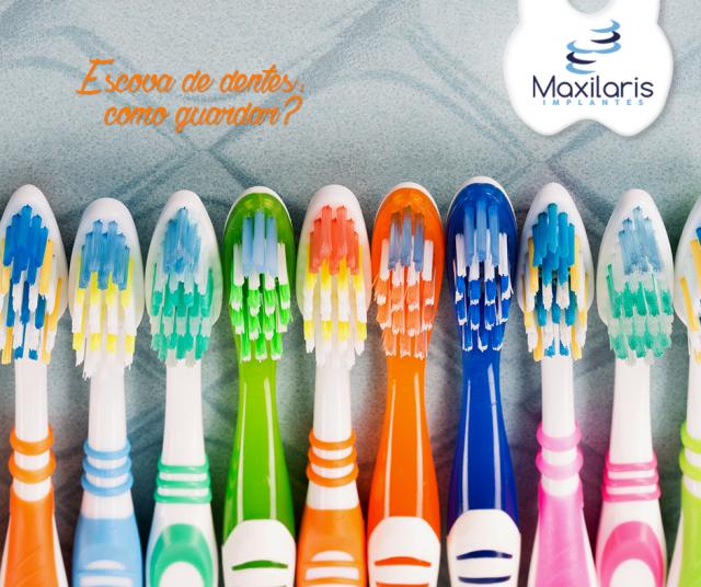 ? Como guardar sua escova de dentes? ?