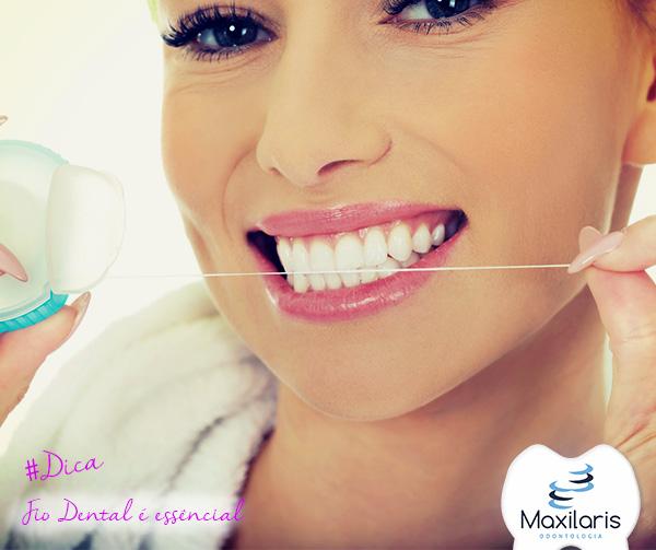 Fio dental é essêncial