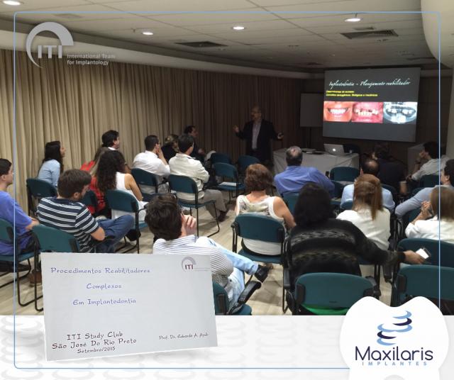 Dr. Renato Jordão no ITI – International Team of Implantology