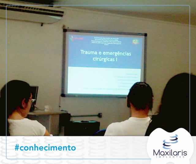 Dr. Renato participa do Curso de traumas e emergências cirúrgicas