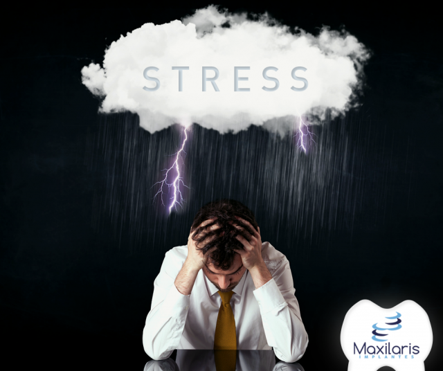 ? O STRESS ? pode causar doenças orais? ?